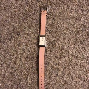 Tory Burch leather strap wristwatch